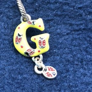 Brighton G yellow ladybug charm or pendant